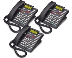 Meridian M9516 Phone w/ Digital Answering Machine (3-pack)